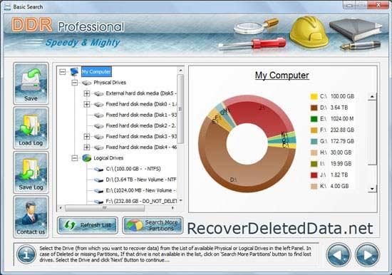 Windows 7 Recover Deleted Data 4.0.1.6 full